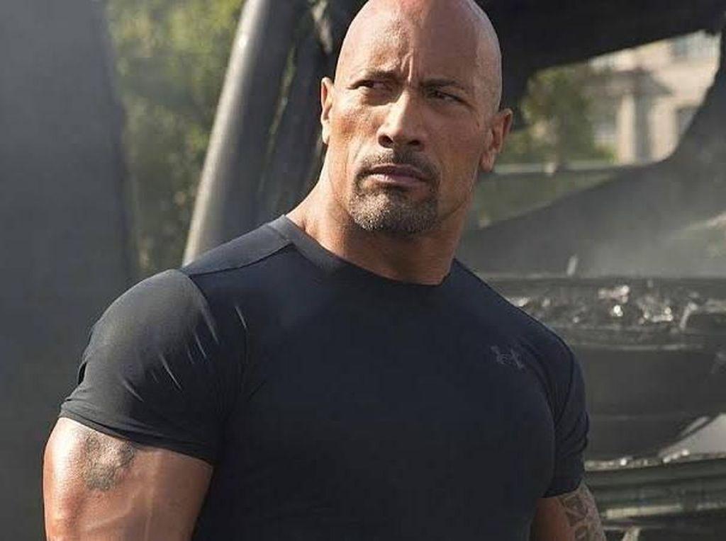 Walau Berotot Kekar, The Rock Akui Punya Masalah Kepercayaan Diri