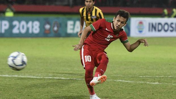 Egy Maulana Vikri sempat memperkuat Timnas Indonesia di semifinal Piala AFF U-19 2018