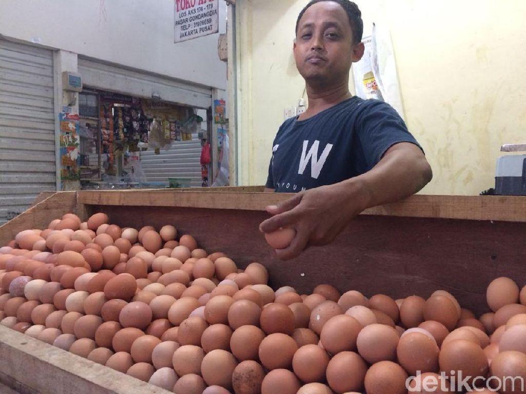 DPR Minta Pemerintah Redam Lonjakan Harga Telur