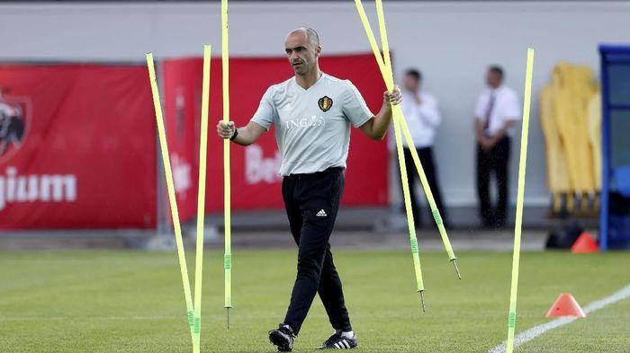 Roberto Martinez dikabarkan jadi salah satu kandidat pelatih baru Barcelona (REUTERS/Damir Sagolj)