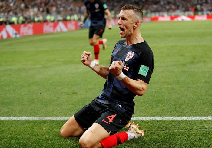 Ivan Perisic menjadi pemain dengan jarak tempuh lari paling jauh di Piala Dunia 2018 (Foto: Darren Staples/Reuters)