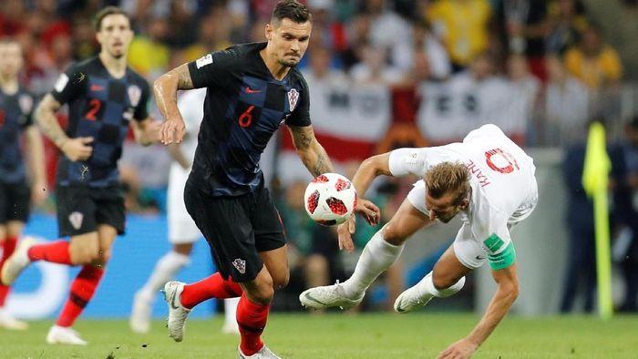 Dejan Lovren mengantarkan Kroasia ke final Piala Dunia 2018 (Foto: Darren Staples/Reuters)