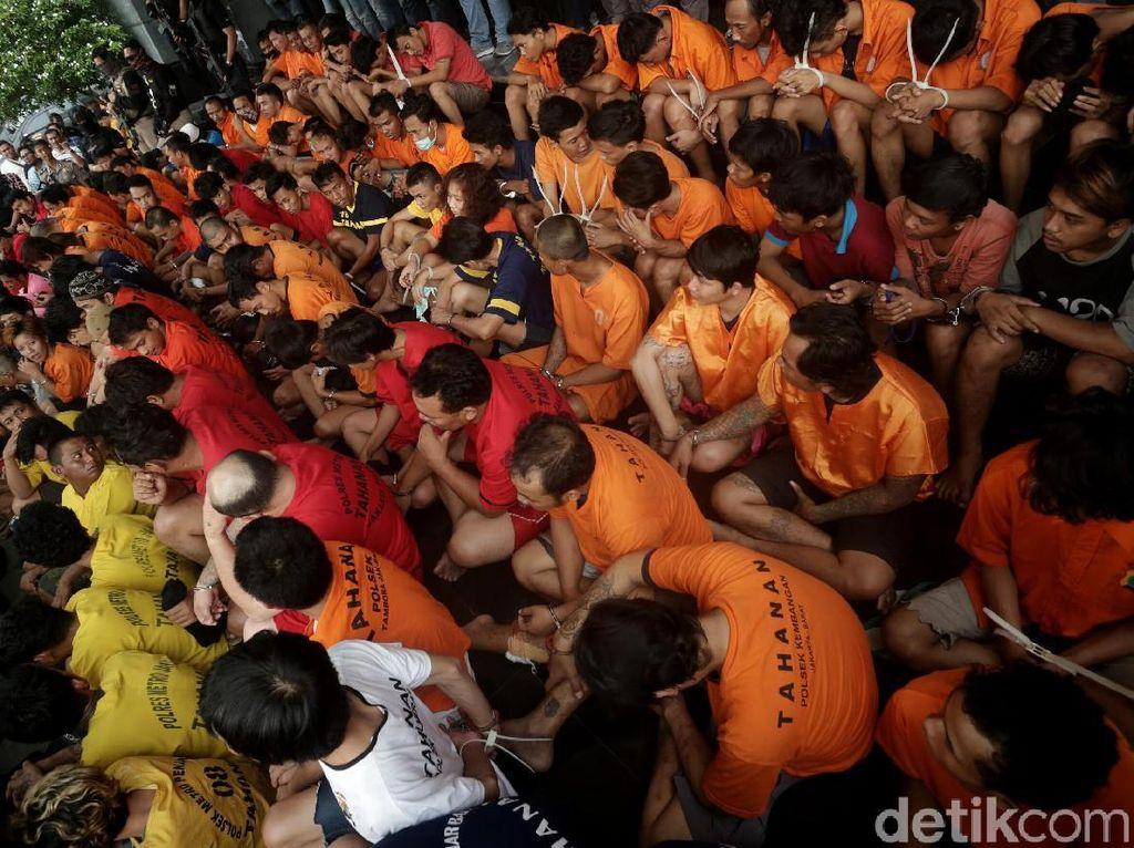 Polda Metro Jaya Rilis Hasil Operasi Cipta Kondisi 2018
