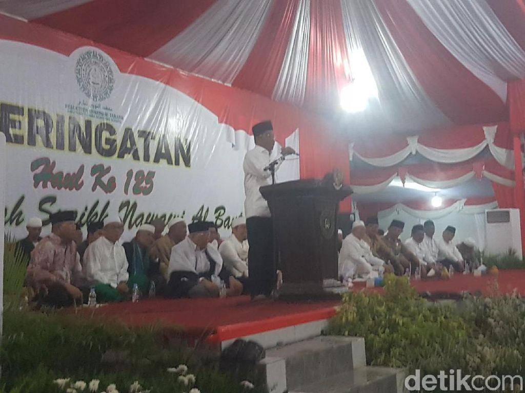 KPK OTT Anggota DPR di Rumah Dinas, Idrus Marham Ceramah di Banten