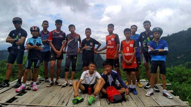 Bagaimana Para Remaja Thailand Bertahan di Gua dengan Sedikit Bekal?
