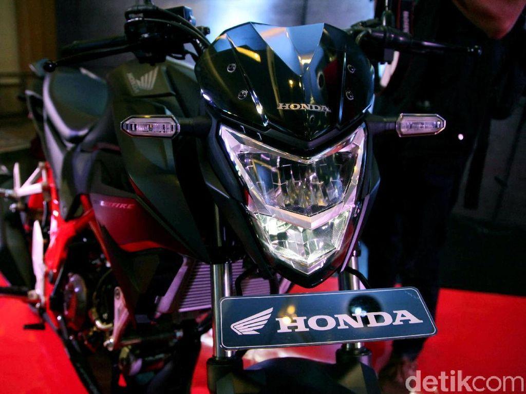 Wajah Baru Honda CB150R StreetFire