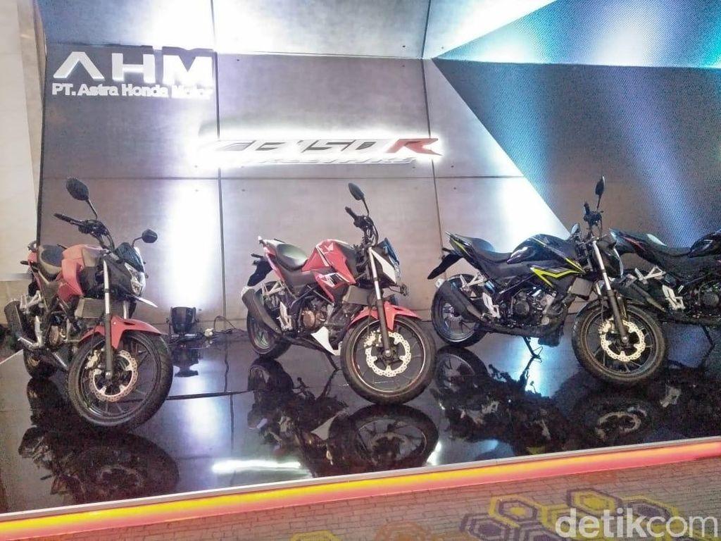 Wajah Baru Honda CB150R StreetFire dan CBR250RR