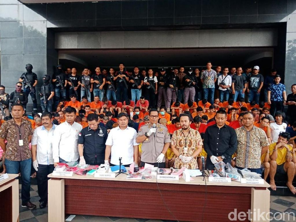 Polisi Ungkap 643 Kasus Kejahatan, 11 Pelaku Ditembak Mati