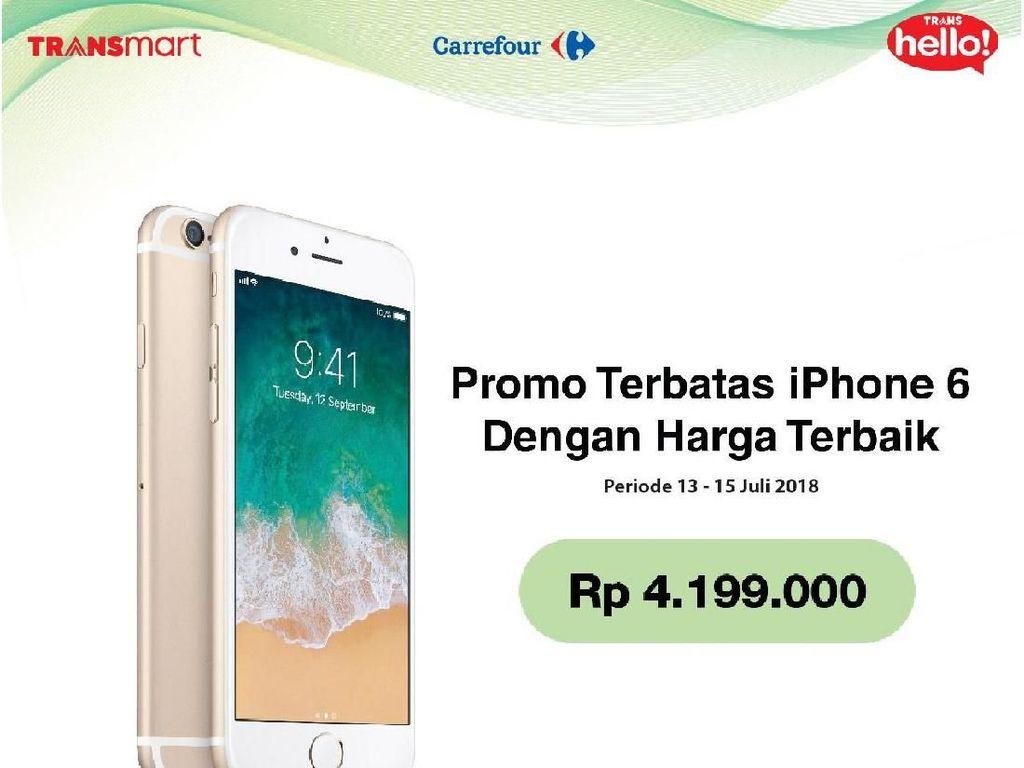 Samsung dan iPhone Saingan Promo di Transmart Carrefour