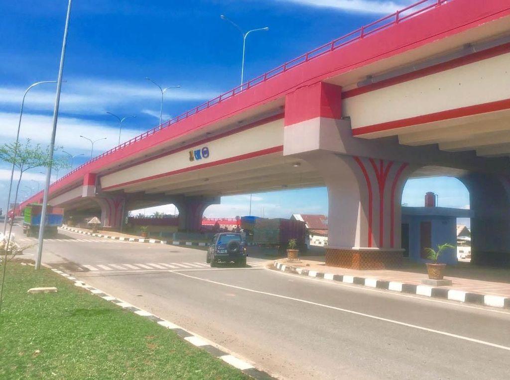 Perbaikan Jalan di Jalur LRT Palembang Rampung Akhir Juli