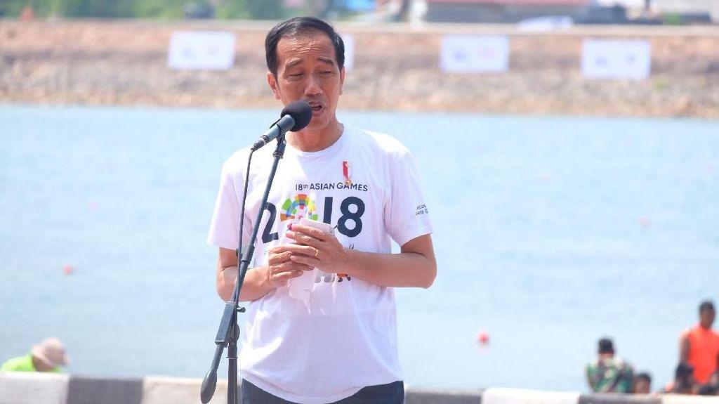 Jokowi: Venue Asian Games di Palembang 99% Sudah Siap