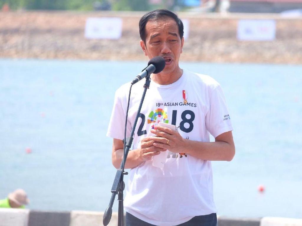 Jokowi: Dulu Punya Banyak Pabrik Dibilang Gagah, Sekarang Tidak