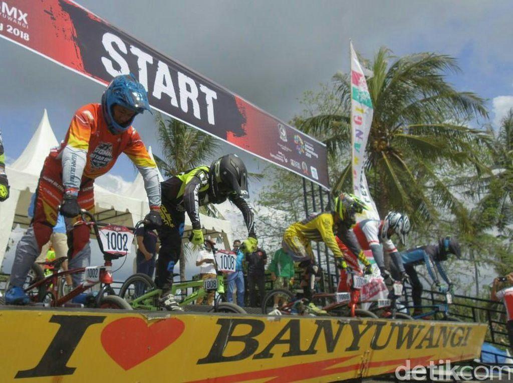 Banyuwangi International BMX Dimulai, 225 Atlet dari 5 Negara Adu Kecepatan