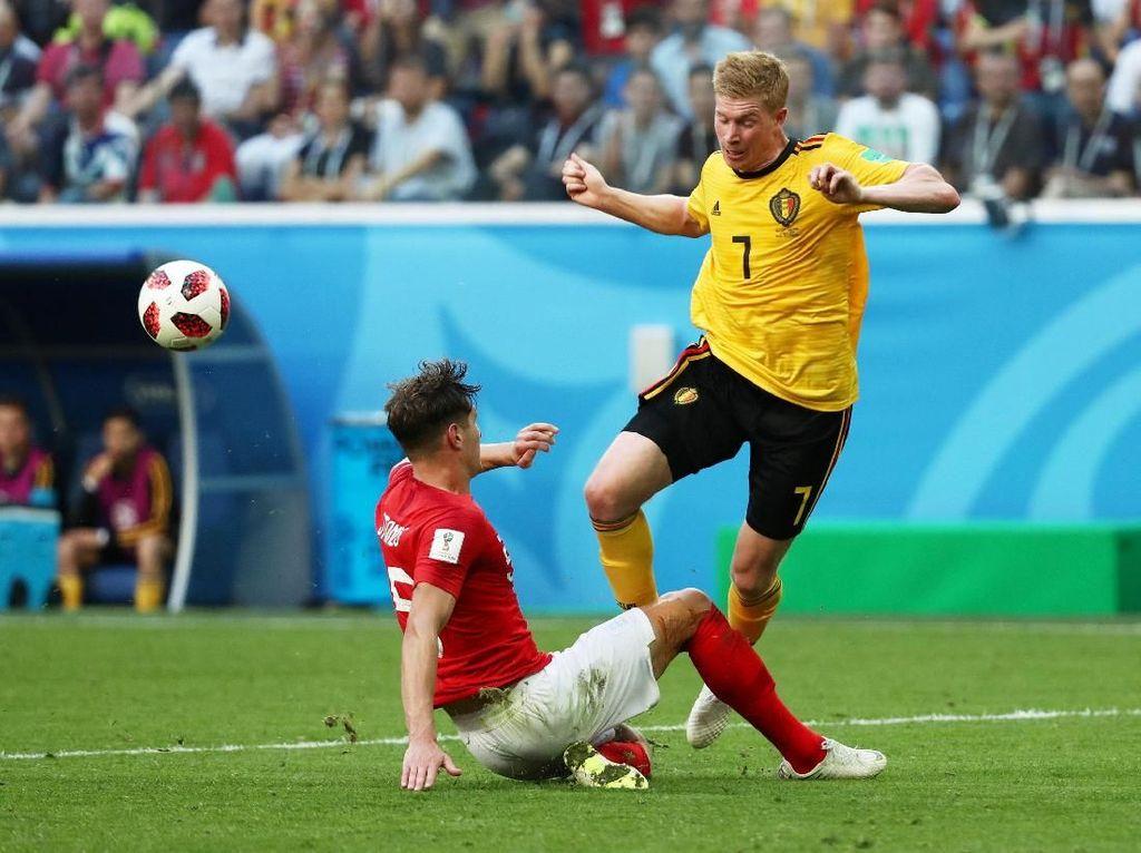 Hasil Pertandingan Piala Dunia 2018: Belgia vs Inggris Skor 2-0