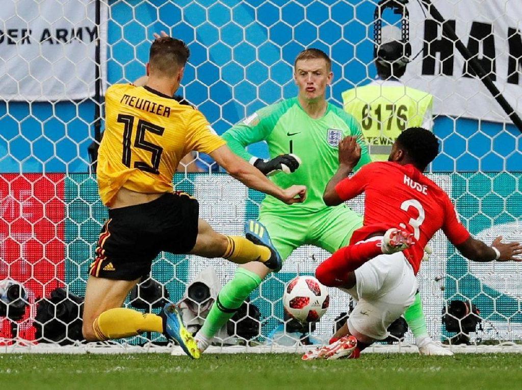 Video: Gol Meunier! Belgia 1-0 Inggris