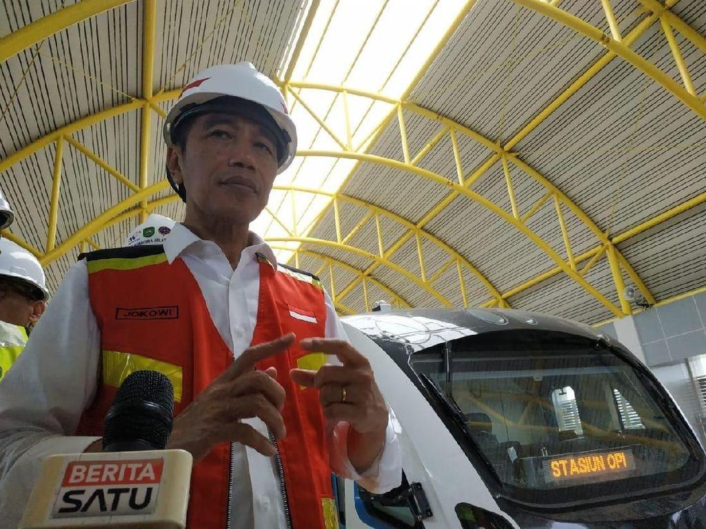 Yuk Lihat LRT Palembang yang Disebut Jokowi Lebih dari di Eropa