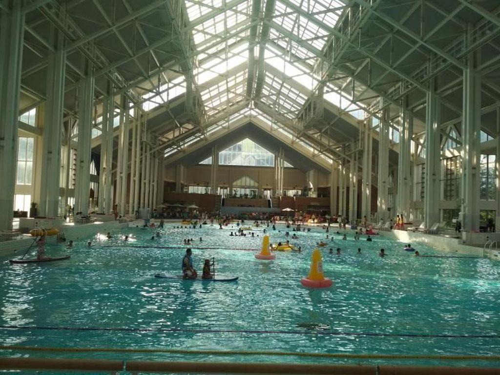 Ada Pantai Indoor di Jepang, Asyik Juga!
