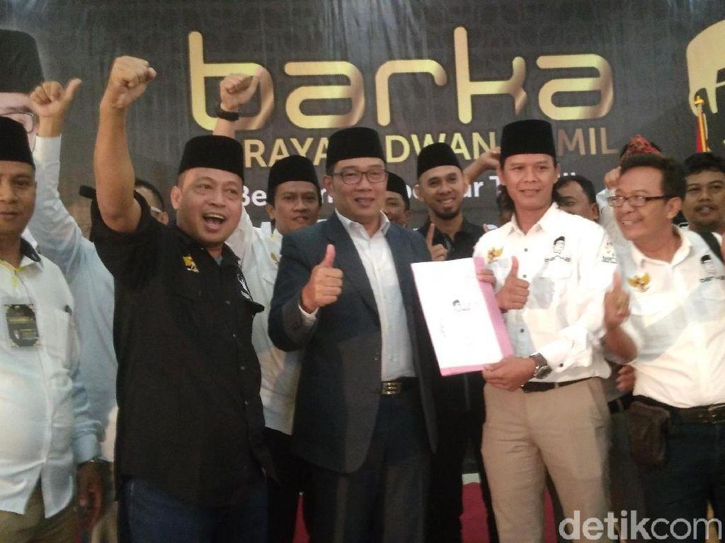 Relawan Minta Dilibatkan Jadi Tim Transisi Ridwan Kamil-Uu