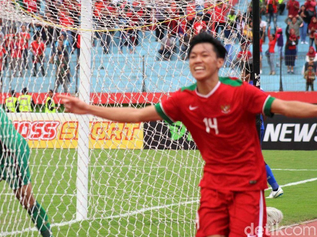 Timnas Indonesia Juara 3, #AFFU19THAIDN Bergema