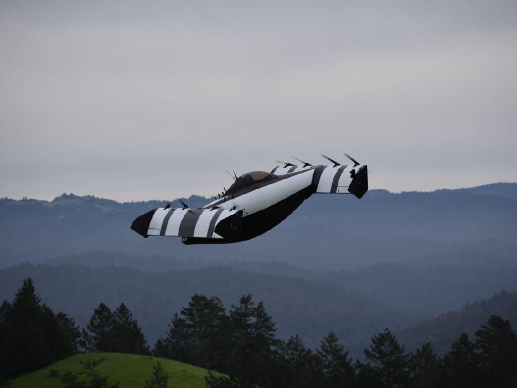 Bos Google Kembali Tanam Modal Pengembangan Mobil Terbang