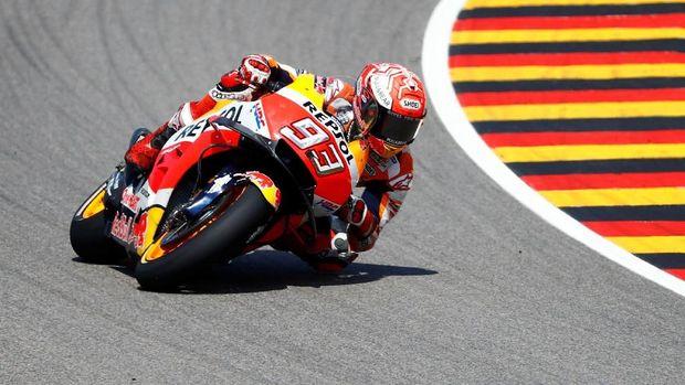 Marc Marquez saat ini jadi pemuncak klasemen MotoGP 2018.
