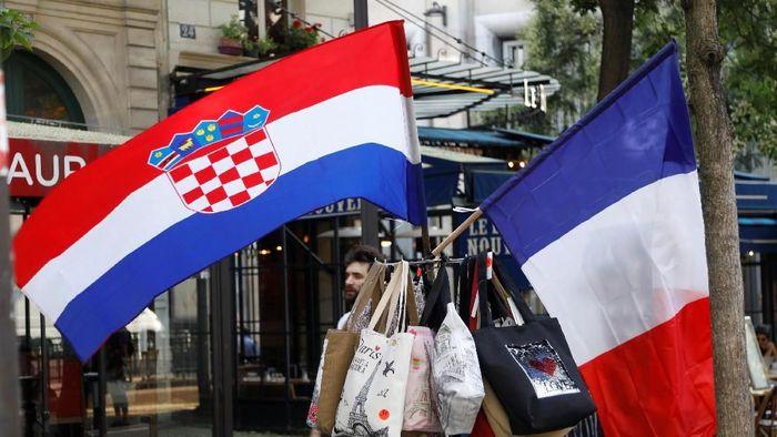 Final Piala Dunia 2018, Prancis vs Kroasia, diprediksi cuma menghadirkan 1 gol (Foto: Charles Platiau/Reuters)