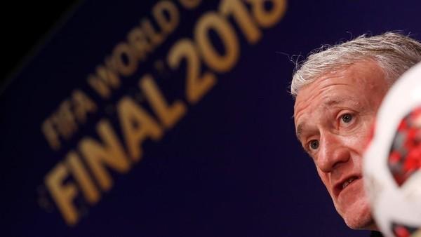 Deschamps Menatap Rekor Zagallo dan Beckenbauer