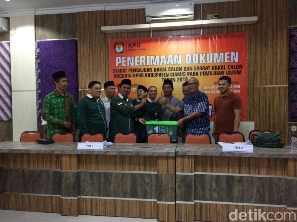 PKB, Partai Pertama yang Daftarkan Calegnya ke KPU Ciamis
