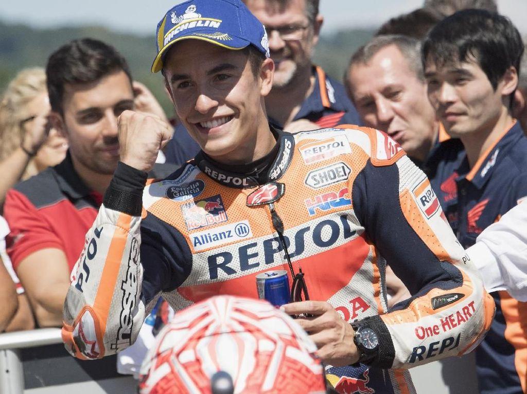 Marquez Merasa Beruntung Ducati Telat Panas