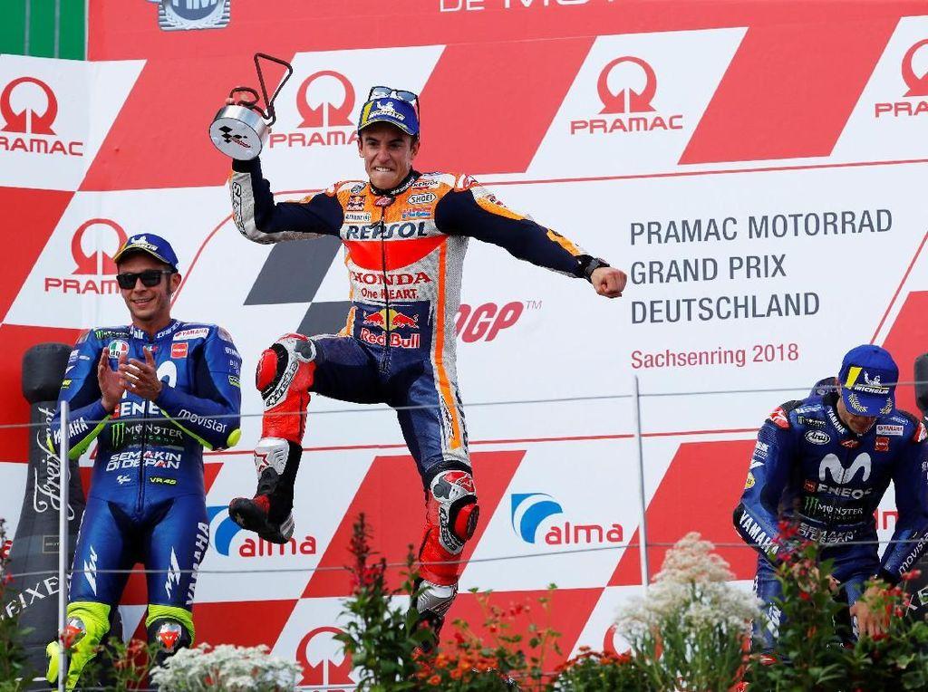 Klasemen MotoGP Usai Balapan di Sachsenring: Marquez Kokoh di Puncak
