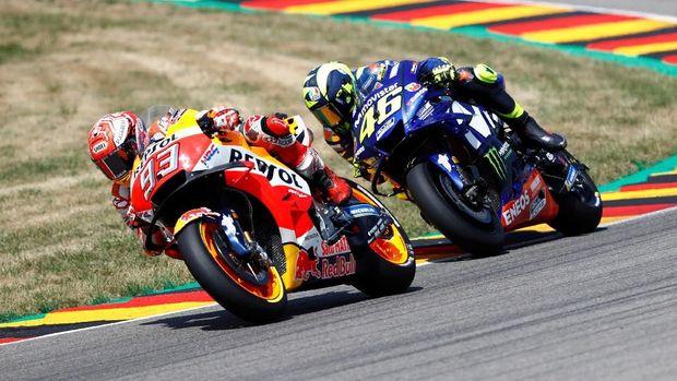 Persaingan Marc Marquez dan Valentino Rossi akan kembali terjadi di MotoGP Ceko.