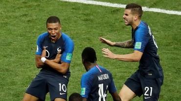 Mbappe Akui Sembunyikan Cedera di Final Piala Dunia 2018