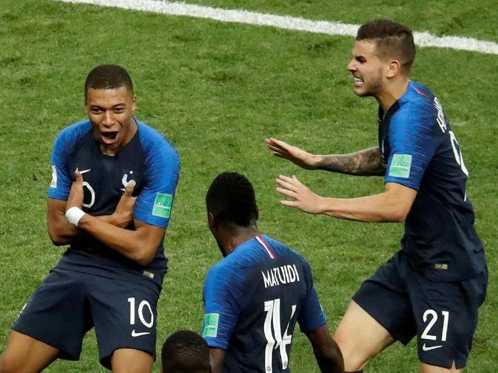 Prancis juara Piala Dunia 2018 (REUTERS/Christian Hartmann)