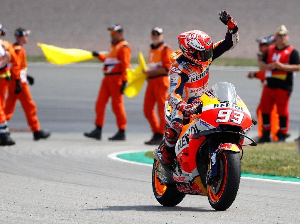 Marc Marquez Menuju 100 di MotoGP Republik Ceko