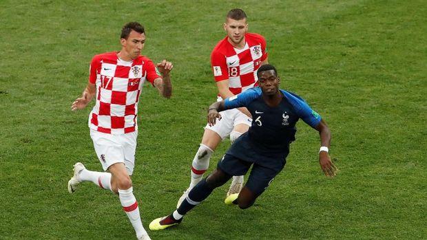 Kroasia sejatinya lebih dulu unggul dalam penguasaan bola di awal laga.