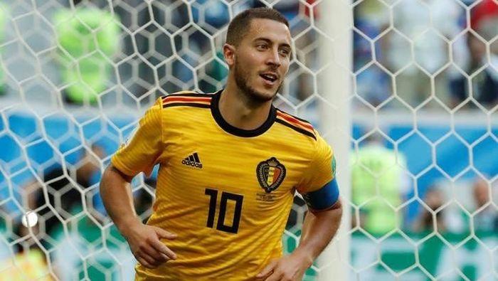Eden Hazard berkeinginan tampil di Olimpiade 2020. (Foto: Toru Hanai/Reuters)