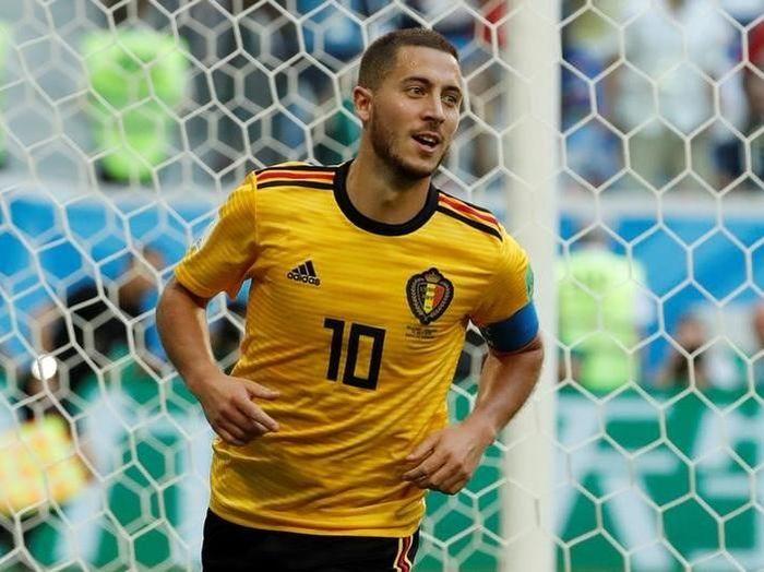 Eden Hazard diyakin akan masuk bursa kandidat peraih Golden Ball Piala Dunia 2018. (Foto: Toru Hanai/Reuters)