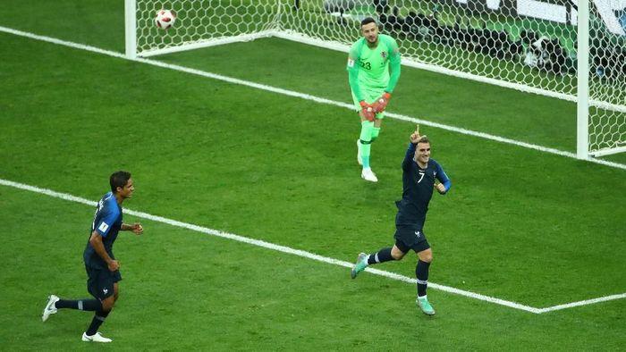 Final Piala Dunia 2018 antara Prancis vs Kroasia menghasilkan enam gol (REUTERS/Michael Dalder)