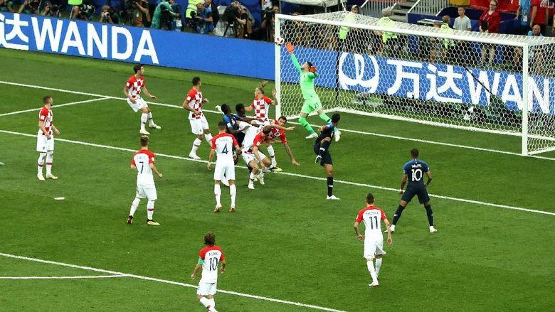 Mandzukic Bikin Gol Bunuh Diri, Prancis Ungguli Kroasia 1-0