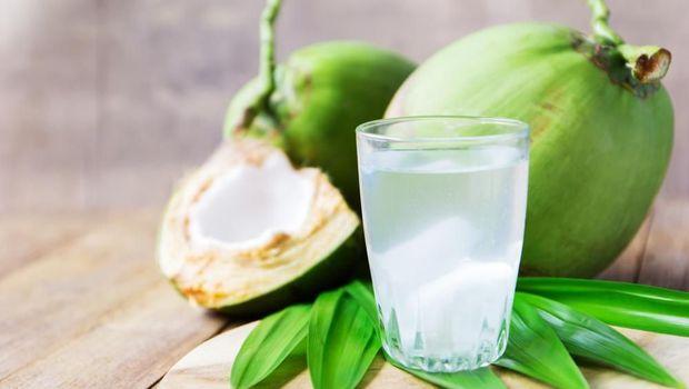 ilustrasi air kelapa muda/