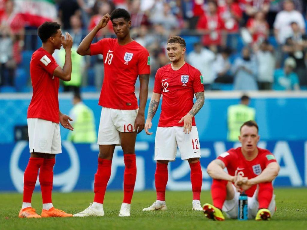 Inggris Finis Keempat, tapi Belum Jadi Tim Empat Besar
