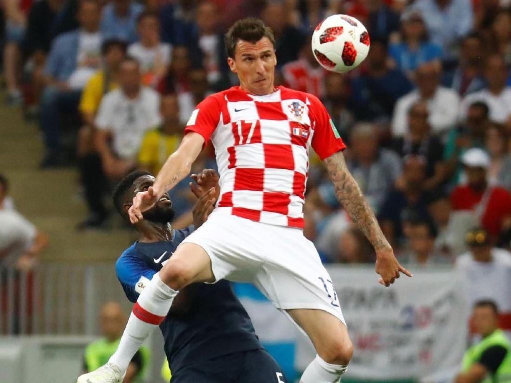 Mandzukic Bikin Gol Bunuh Diri Pertama di Final Piala Dunia