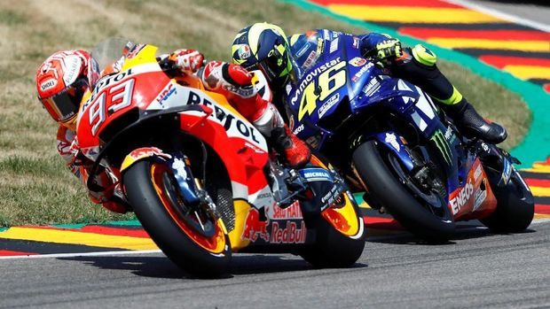 Marc Marquez diprediksi akan menang mudah di MotoGP Ceko 2018.