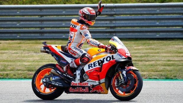 Marquez: Valentino Rossi Masih Sangat Berbahaya