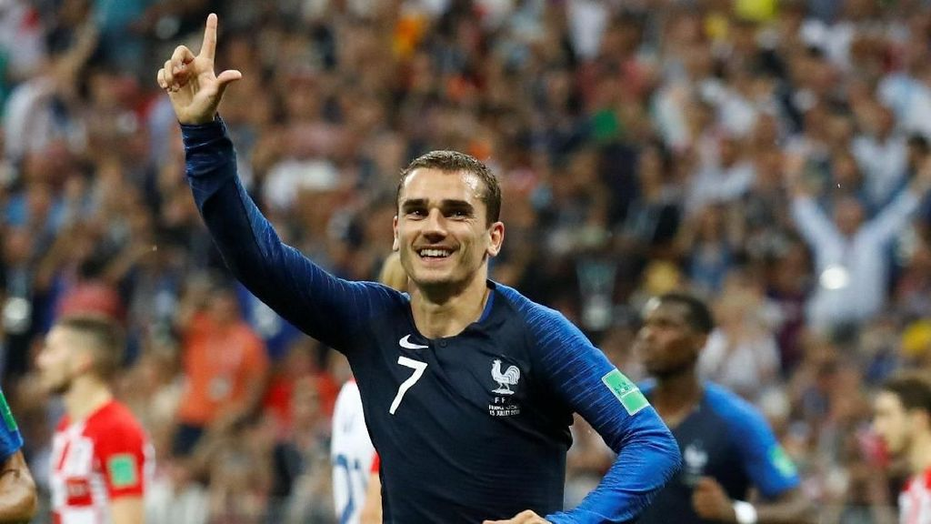 Hasil Final Piala Dunia 2018: Prancis Vs Kroasia Skor 4-2