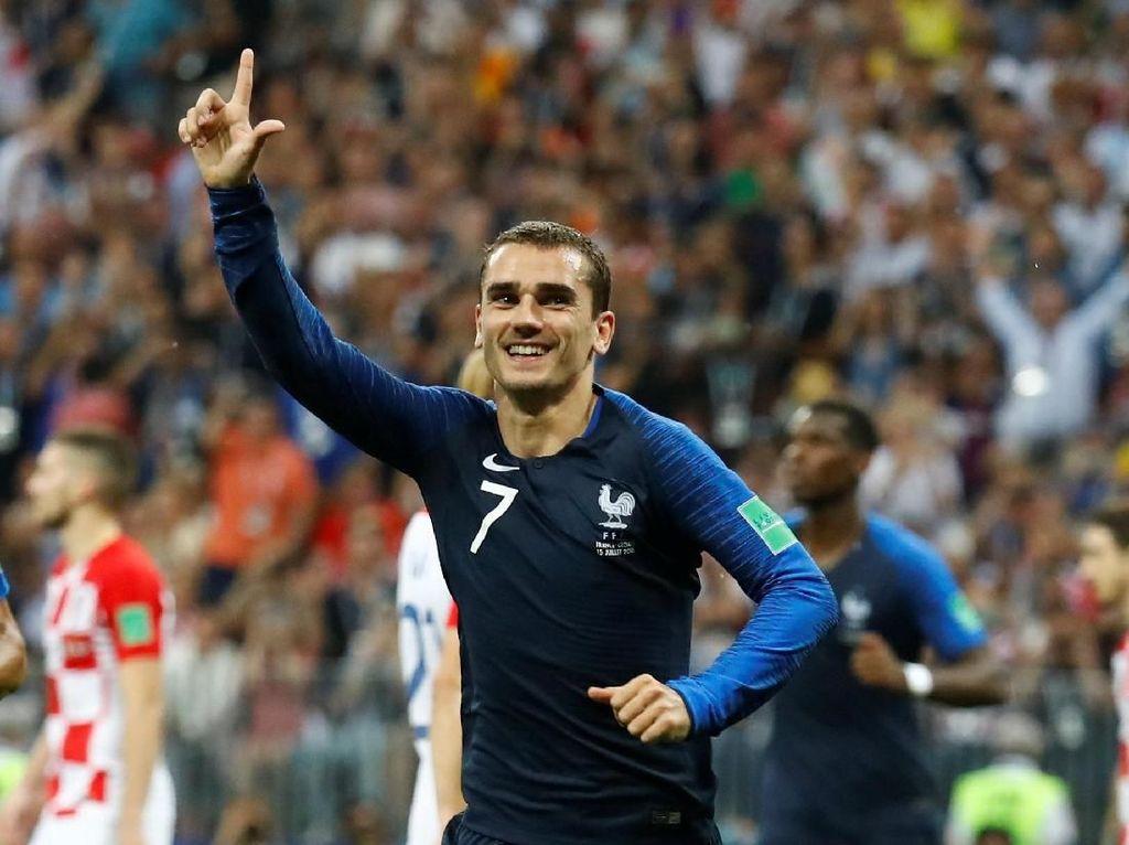 Video: Perisic Handball, Griezmann Buat Prancis Unggul 2-1