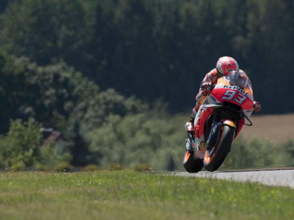 Marquez Tercepat di Free Practice II MotoGP Austria
