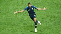 Video: Pogba dan Mbappe Cetak Gol! Prancis 4-1 Kroasia