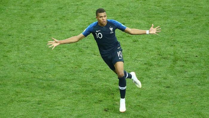 Kylian Mbappe mengantarkan Prancis jadi juara Piala Dunia 2018. (Foto: reuters)