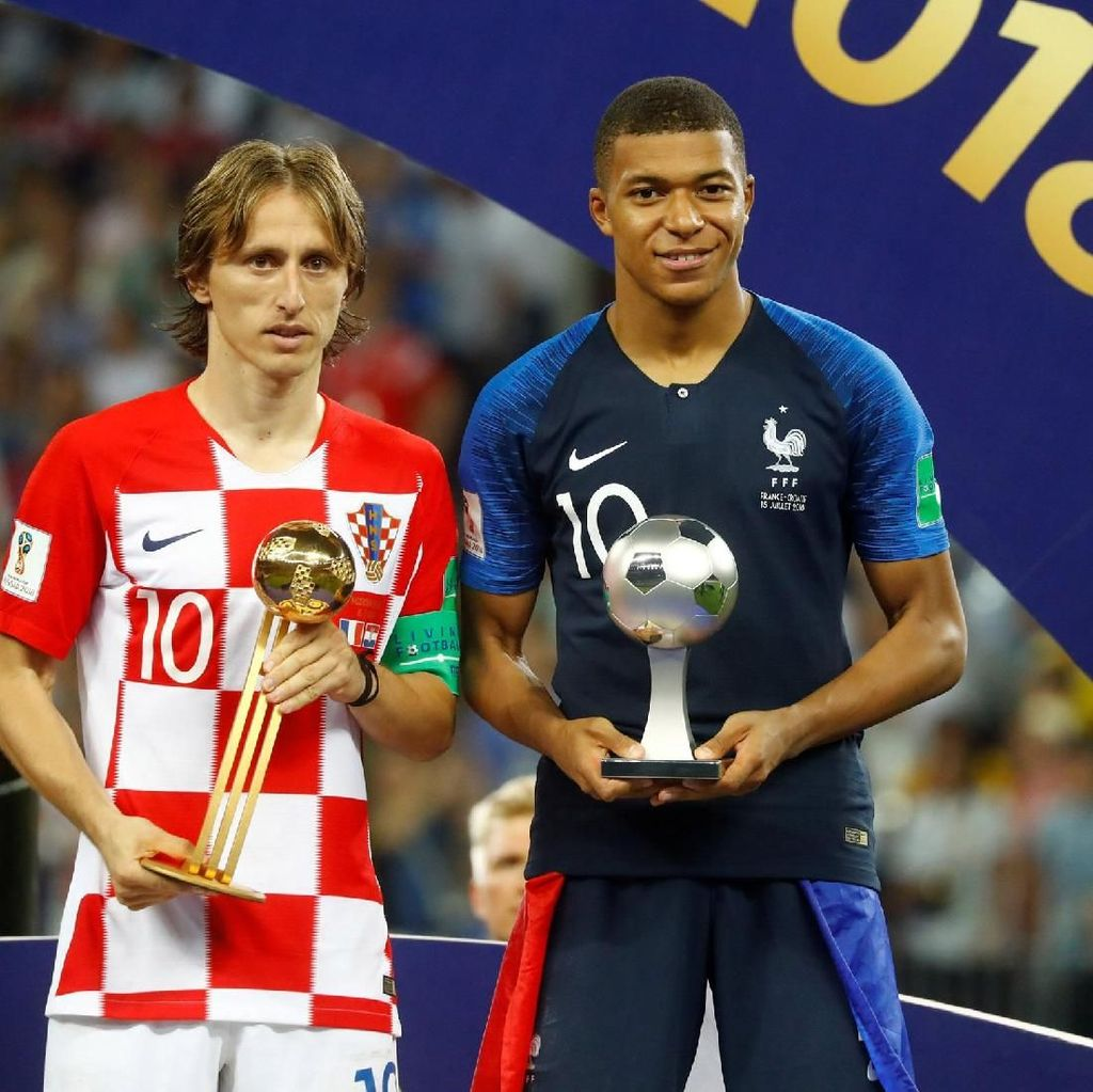 Mbappe vs Modric di Laureus Awards 2019